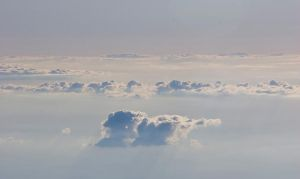 above the clouds by archaeopteryx-stocks