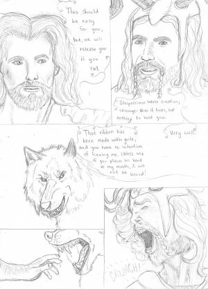 The Tale of Fenrisulfr: Page Nine