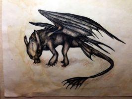 Toothless by DragonRider19982010