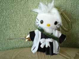 Hitsugaya hellokitty plushie by Rens-twin
