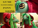 Gumi Matryoshka Pony by THUNDRkitty