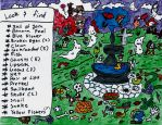Look and Find- The Ghastly Garden by Badgercheese1994