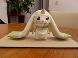 Terriermon Papercraft by DraikenTalkos