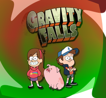 Gravity Falls simple graphics by ScootsNB
