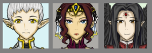 Legends Of Ramaria: Icons 2 by SilverRacoon