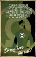 Green lantern Corps by Iconograph