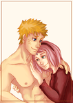 NaruSaku - This Chest Cover (Blank Color) by Kirabook