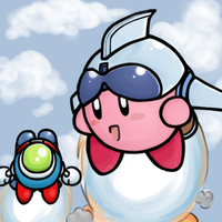 Jet Kirby by sunshineNoka