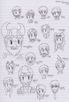Yogscast - Quick Sketches by imthederpyfox