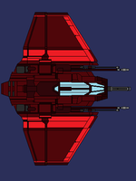 Bloodhawk Starfighter by wbyrd