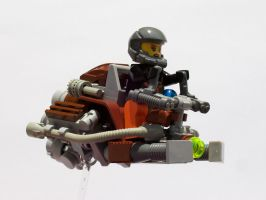 Hoverbike by AL13N163NA