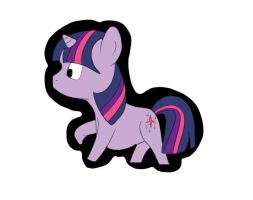 Twilight Sparkle chibi by mxrshmellow