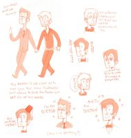 Doctor Who Sketch Dump by weallscream4icecream