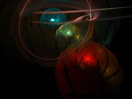 Space Balls by MzKitty45601