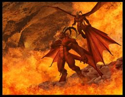 Of Hells fire by Funerium