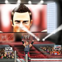 He's The Miz and he's AWESOME by Shini-Smurf