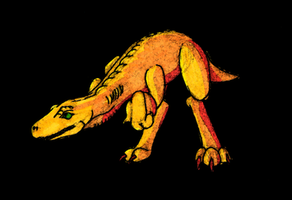 Agumon - 2009 by simpleCOMICS