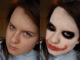 The Joker - Before and After by didyoubelieve
