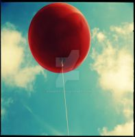 Red balloon by SmaRts