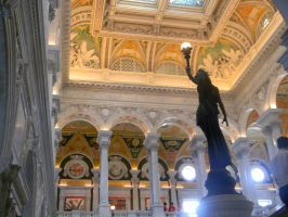 Library of Congress by EvelynnJay