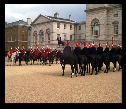 Them Brit' Horsed Guards by negatif
