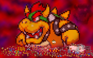 Bowser and his Army by PxlCobit