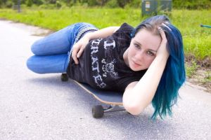 On The Skateboard 3 by MordsithCara