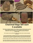 Chainmail Bag Sale by Chained-Dragon