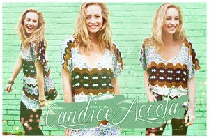 Blend - Candice Accola by RavenLSD