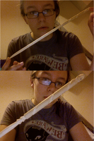 Hand-Carved Wand by Harry-Potter-Addict