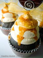 Salted Caramel Faux Cupcake 02 by CreativeAbubot