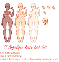 Angelique Base Set by Hime-Allie