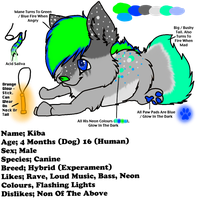 Rave Dog Adopt CLOSED by HyperMuttAdoption