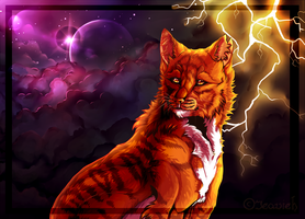 Warrior Cats -Thunder!- +SPEEDPAINT by Jeavieh