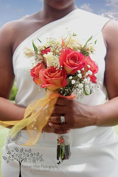 Bride's Flowers by TabithaS-Photography