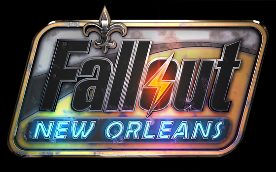 Custom Fallout: New Orleans logo by Red888guns