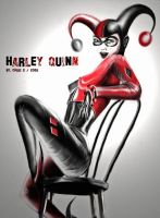 harley quinn by sorianouk