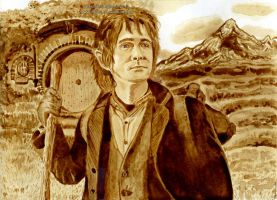 Bilbo Baggins: An unexpected journey by Ilojleen