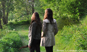 The Road so far (Fem!Dean And Fem!Castiel) by HecateCaolween