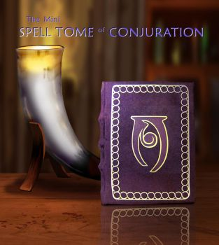 Mini Tome of Conjuration by Swashbookler
