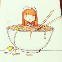 Noodles Colored by Squishy-Feathers