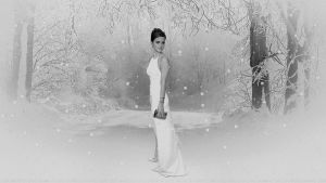 Emma Watson Snow Queen IV V4 by Dave-Daring