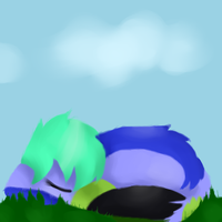 Napping by Splooshasaur