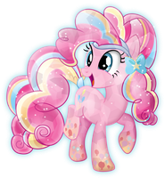 Rainbow Power: Crystal Pinkie Pie by TheShadowStone