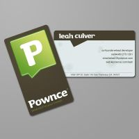 Pownce Business Card by WhoIsScott