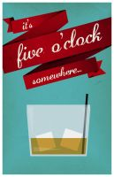 It's five o'clock somewhere... by DrewDahlman