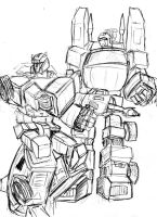 Sideswipe Trailbreaker sketch by Charger426