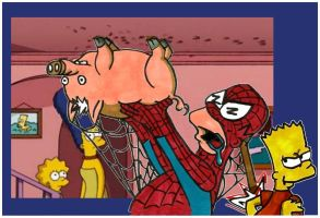 spiderpig... spiderpig... by MaryJet