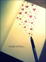 Words of Love... by Nessy-91