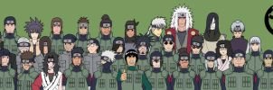 Shinobi of Konoha 1 by jimjimfuria1